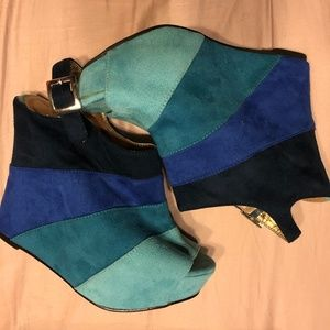 Shades of Blue Modcloth Wedges